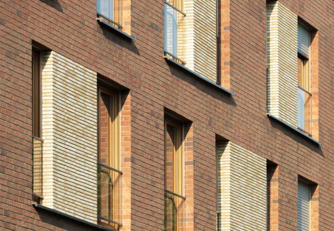 Wohnen In Frankfurt-Schwanheim Fassade